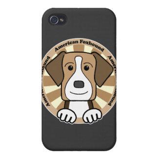 Raposero americano iPhone 4 protectores