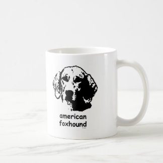 Raposero americano tazas de café