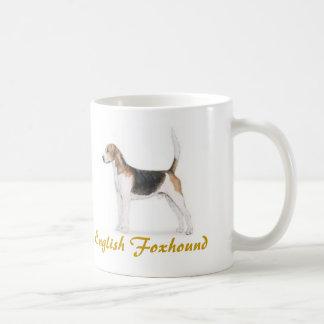 ¡Raposero inglés amante del perro a montones Tazas De Café