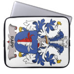 Rapp Family Crest Computer Sleeves