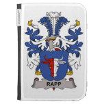 Rapp Family Crest Kindle Folio Cases