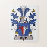 Rapp Family Crest Puzzles