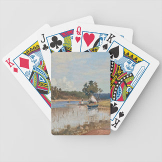 """Rapp's """"Sunday Trip"""" playing cards"""