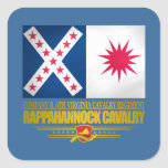 Rappahannock Cavalry Square Sticker