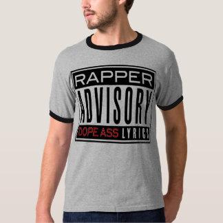 RAPPER ADVISORY T-Shirt
