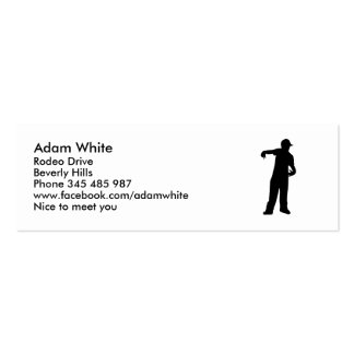 Rapper Business Cards