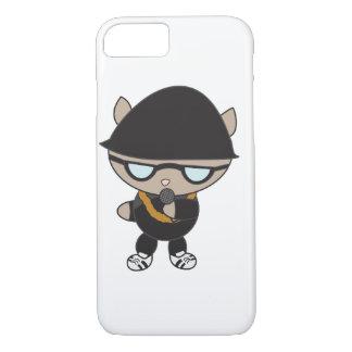 Rapper Cat in Bell Hat iPhone 7 Case