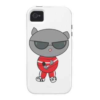 Rapper Cat in Track Suit