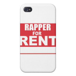 Rapper For rent iPhone 4/4S Covers