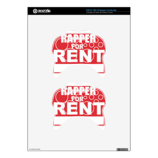 Rapper For rent Xbox 360 Controller Skins