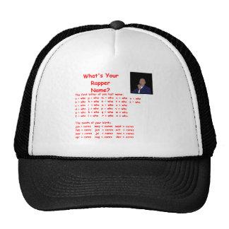rapper name trucker hat