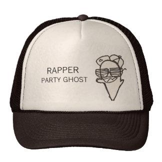 Rapper Party Ghost Trucker Hat
