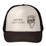 Rapper Party Ghost Mesh Hat