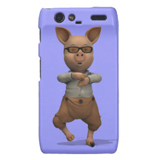 Rapper Pig Motorola Droid RAZR Covers