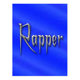 Rapper Postcard