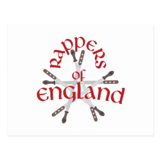 Rappers England Postcard