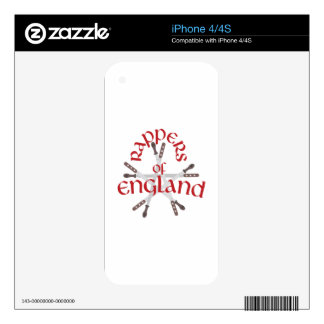 Rappers England Skin For The iPhone 4
