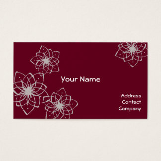 < Rapping it comes and dyes the snowflakes > Business Card