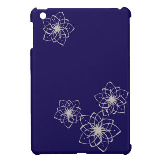 < Rapping it comes and dyes the snowflakes >Flower iPad Mini Case