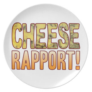 Rapport Blue Cheese Melamine Plate