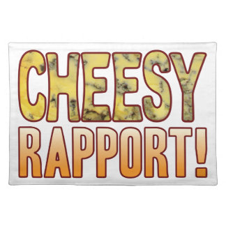 Rapport Blue Cheesy Cloth Placemat