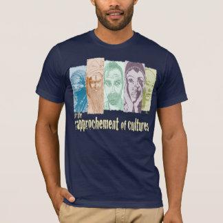 Rapprochement of cultures. T-Shirt