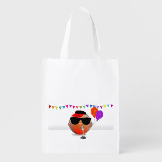 Rappy Birdy to you - Happy Birthday present / gift Reusable Grocery Bag