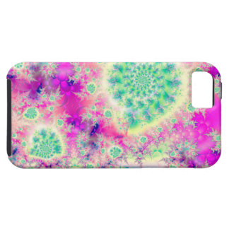 Rapsberry Heart Star, Abstract Heart Beat of Love iPhone SE/5/5s Case