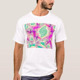 Rapsberry Heart Star, Abstract Heart Beat of Love T-Shirt