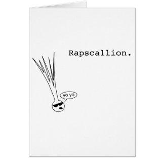 rapscallion card