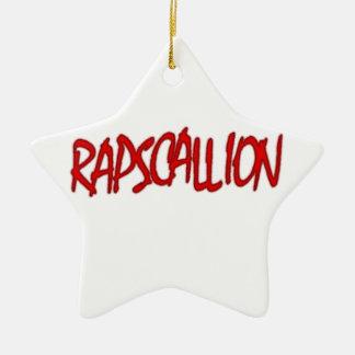 rapscallion ceramic ornament