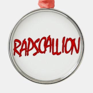 rapscallion metal ornament