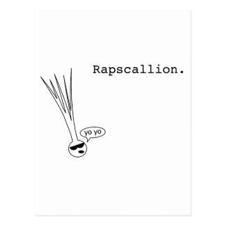 rapscallion postcard
