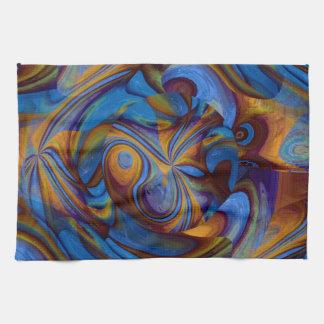 Rapsodia bohemia toallas de cocina