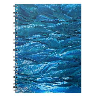 Rapsodia cerúlea spiral notebook