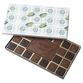 Rapsodia de la uva caja de bombones variados con 45 piezas