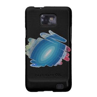 Rapsodia en azul en la caja negra S2 de la galaxia Samsung Galaxy S2 Carcasa