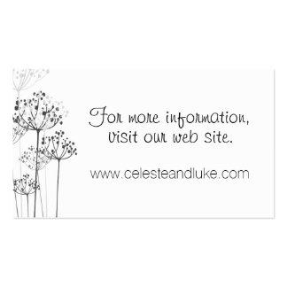 Rapsodia herbaria que casa el Info Tarjetas De Visita