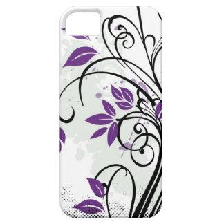 Rapsodia púrpura iPhone 5 carcasas