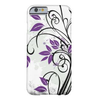 Rapsodia púrpura funda de iPhone 6 barely there