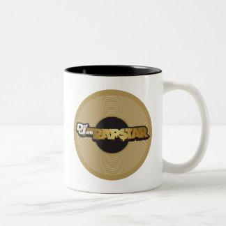 Rapstar Vinyl Two-Tone Coffee Mug