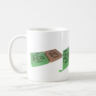Rapt as Ra Radium and Pt Platinum Coffee Mug