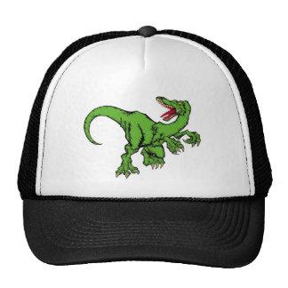 raptor color trucker hats