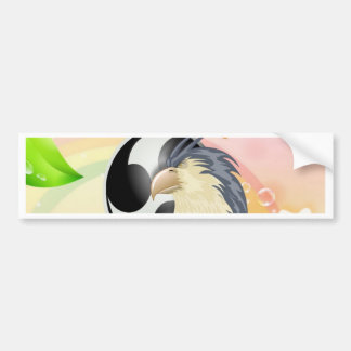 raptor eagle and music bumper stickers