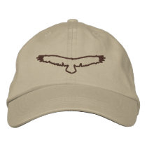 Raptor Embroidered Baseball Hat