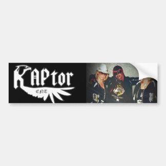 RAPtor ENT Bumper Sticker
