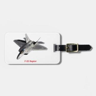 Raptor F-22 Bag Tag