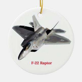 Raptor F-22 Ceramic Ornament