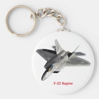Raptor F-22 Keychain