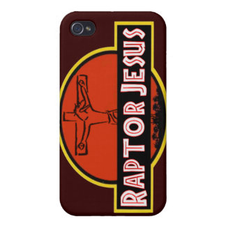 Raptor Jesus iPhone Case iPhone 4/4S Case